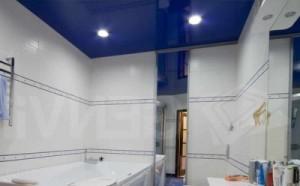 Подвесные потолки в ванной фото: