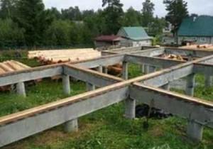 Строим сами свайный фундамент для дома