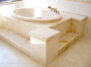 Литьевой мрамор для ванны