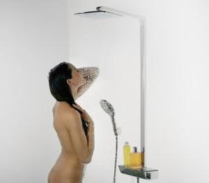 Выбираем верхний душ