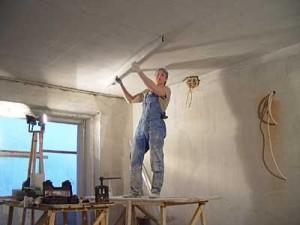 Выравнивание и облицовка потолков
